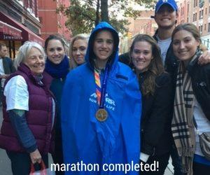 toni blanchard post marathon
