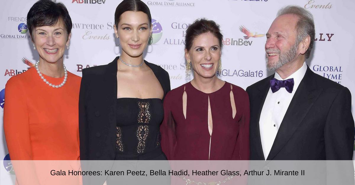 Karen Peetz, Bella Hadid, Heather Glass, Arthur Mirante