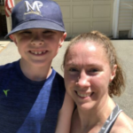 new york city marathon_Erin Conant with her son