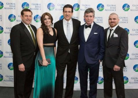 GLA CEO Scott Santarella, Marina Morgan, GLA Chairman Rob Kobre, Jay McInerney, Jim Miller
