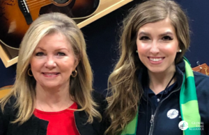 Sen. Marsha Blackburn (R-TN) with GLA Ambassador Jen Kenley (