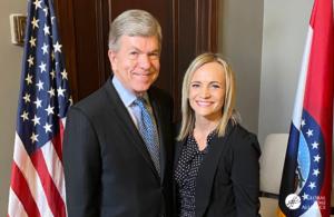 Sen. Roy Blunt (R-MO) with GLA Ambassador Melinda Sander