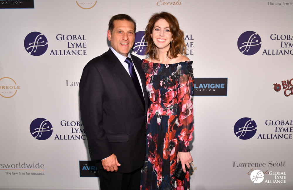 GLA CEO Scott Santarella, Amie Lavigne - The Avril Lavigne Foundation