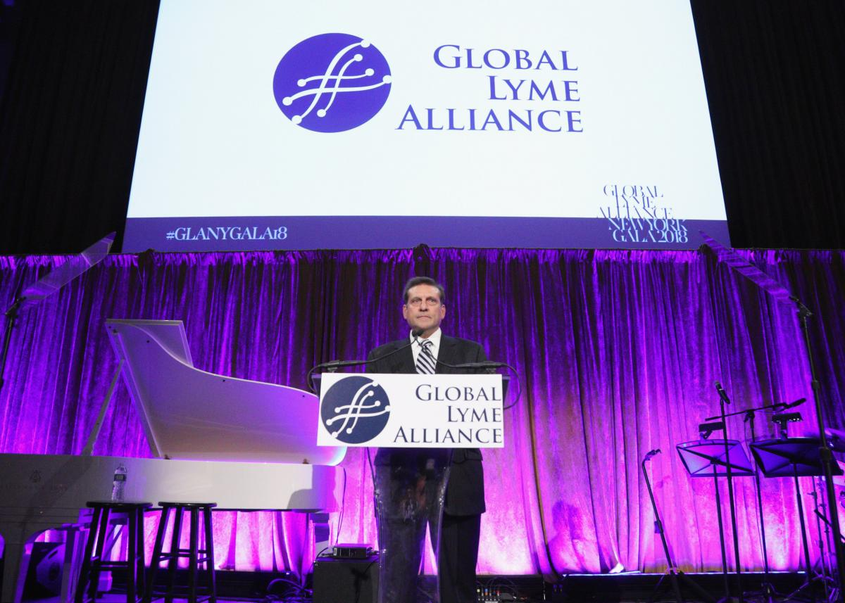 Addressing the room at GLA's 4th annual NYC Gala