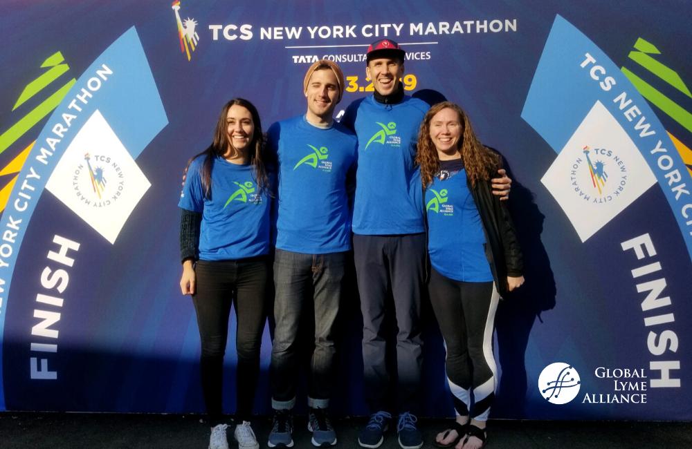 Team GLA 2019, L-R: Taryn Tomczyk, Jesse Ruben, William Egan, and Erin Conant (missing Mia Sapienza)